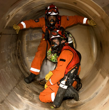The purpose of the ossa confined space entry and monitor program is to