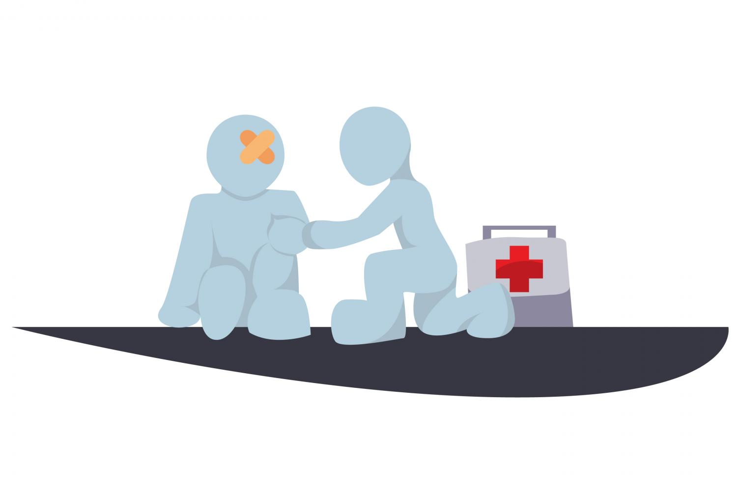 how to carry out training for first aid